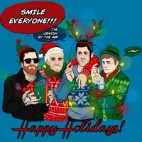 Fob Holiday card by Meglm5291