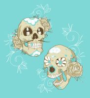 Sugar Skulls by paulorocker