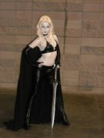 Lady Death behind the scenes photo shoot by LadyLestat88