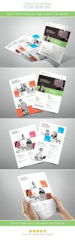 Creative Design Flyer by hoanggiang12