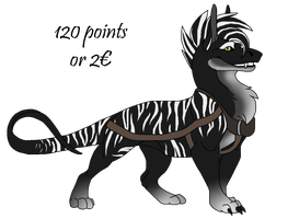 Lizard Dog 01 by flying-werwolf-adopt