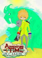 Adventure Time with Older Z and Ziino by HastyLion