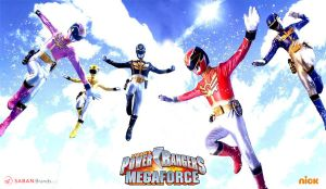 Power Rangers Megaforce 3rd Wallpaper by scottasl