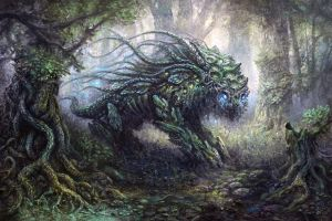 Forest Dragon by yonaz