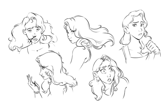Danni Expressions by Sketchderps