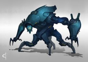 Bluebot by corndoggy