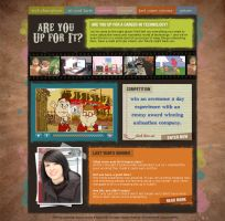 Are you up for it? by: birofun by WebMagic