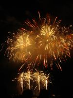 English Bay Firework Competition (Canada) by xDNarnian
