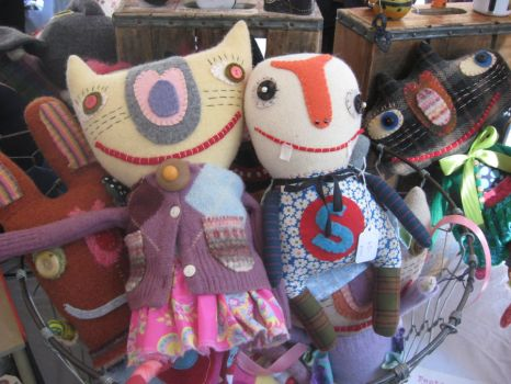 Dolls by A-Harlequin-Creation