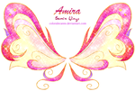 Amiras Samix wings by Coloralecante