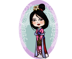 Look Within... Mulan vs.2 by regina35nocis