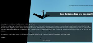 Nightwing Journal Theme by TheD3xus