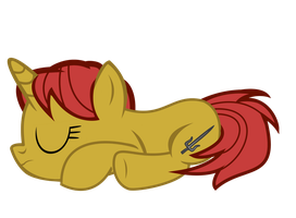 (Request)  Star Shine taking a snooze by kuren247
