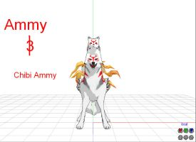MMD Newcomer Ammy and littel Ammy by Shadowtoungplz