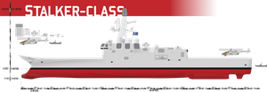 Stalker-class Helicopter Destroyer, ASW by Afterskies