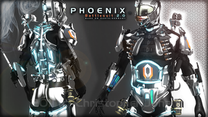 Final Pheonix Silver Suit by GetFamousDesigns