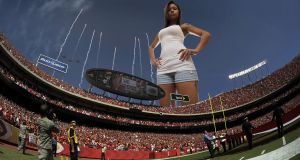 Genarika at stadium by lowerrider