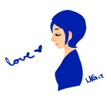love blue by mnmgreenforest