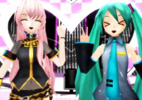 Here at the Heart Stage by Miku01xLuka03