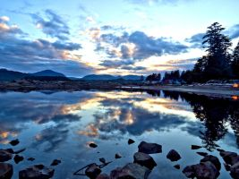 Dusk in southeast Alaska by Glacierman54