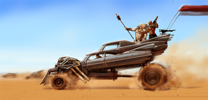 Immortan Joe Car by pungang