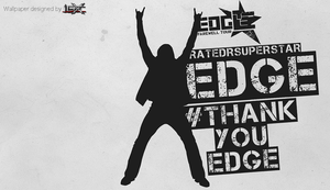 Edge WWE Wallpaper by TheElectrifyingOneHD