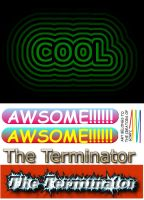 cool logo's 1 by crazy-love2draw