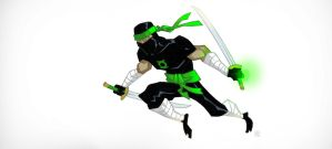 Green Lantern_14 by darrenrawlings