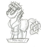 Pony Pedi by fyre-flye
