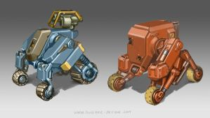 Industrial Robots by MikeDoscher