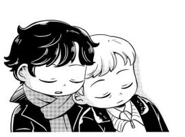 [BBC SHERLOCK] Sleep by twosugars16