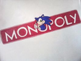 Sonic Monopoly Logo by TeamOf1