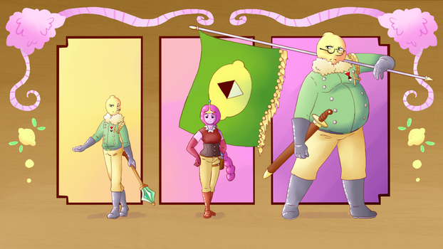 The Ruling Family of Ooo by Demonite89