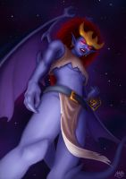 Gargoyles - Demona by clockworkconfusion