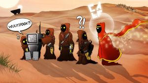 Journey Jawas by nazo-gema