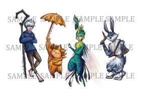 ROTG: Bookmark samples by ZLynn