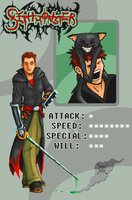 Sethonster - Pixel fighter ID by Sethmonster