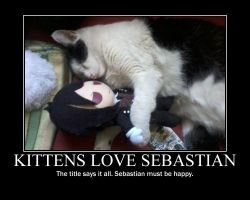 Kittens Love Sebastian by peas-out