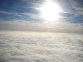 Above the clouds I by Tonomaru