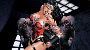 Wonder Woman. Caught. by dgrart2013