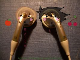 DN earphones by herman-the-handyman