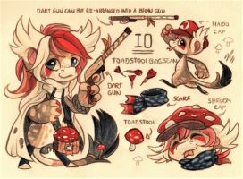Io Ref. Sheet [Commission] by Pollock-InThe-Toilet