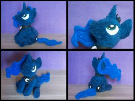 MLP Princess Luna plush by Valmiiki