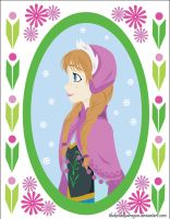 Princess Anna by TheKohakuDragon