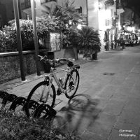 Lonely Bicycle Nights 3 by Okavanga