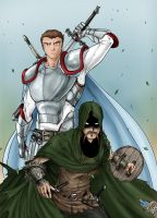 The Ranger and The Warrior by prafaelb7