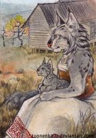 ACEO: Under This Sky by Tuonenkalla