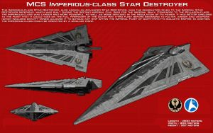Imperious Class star destroyer ortho [New] by unusualsuspex