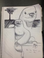 I Like Sloths by CaffeineHeart