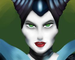 Magnificent Maleficent by LazyPiglett
